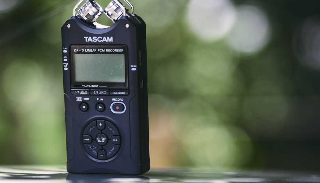 Top 10 Best Portable Audio Recorders In 2019 Reviews