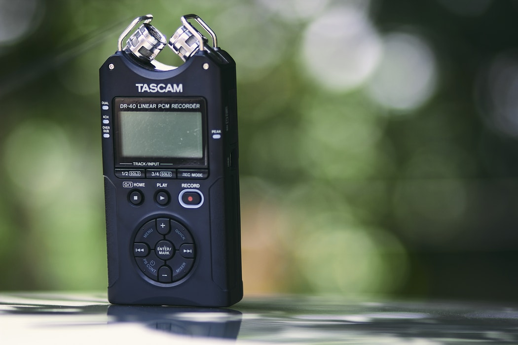 best portable audio recorders 2019