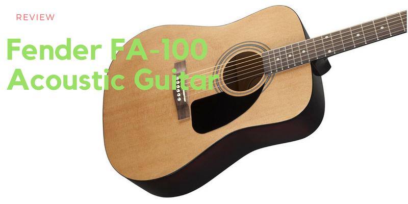 Fender FA-100 Acoustic Guitar | Should Fender Stick with Electrics?