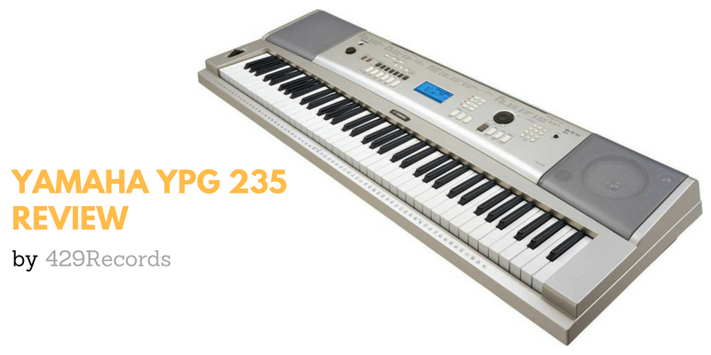 Yamaha YPG 235 Review