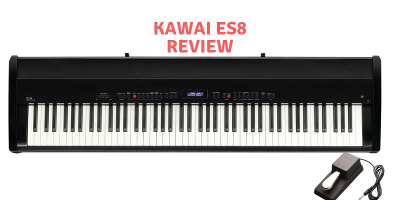 Kawai ES8 black piano