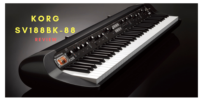Korg SV188BK – 88 Key Digital Piano Review
