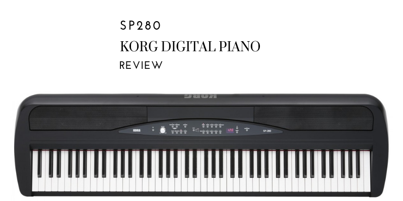 Korg SP280 Digital Piano Review