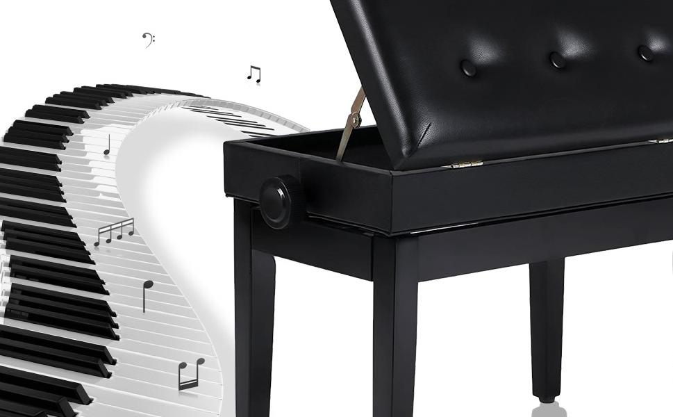 Best Piano Bench 2019- Top 10 Reviews & Buying Guide