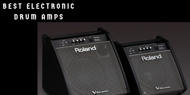 Best Electronic Drum Amps
