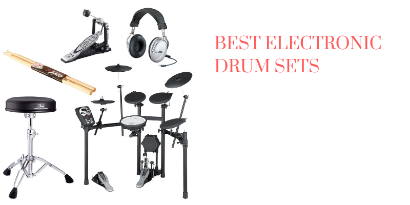 Top 10 Best Electronic Drum Sets On The Market Reviews