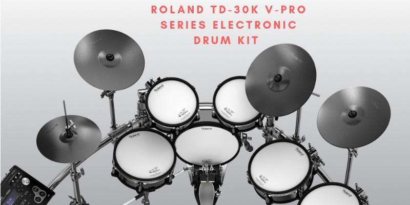 Roland TD-30K V-Pro Series Electronic Drum Kit Review