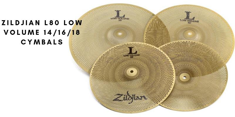 Zildjian L80 Low Volume 141618 Cymbals