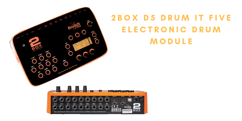 2BOX D5 Drum It Five Electronic Drum Module Review