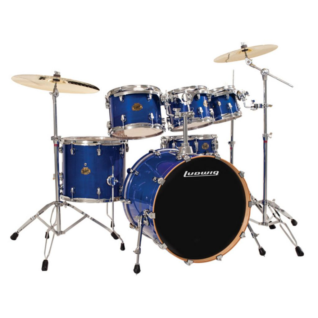 Ludwig Junior 5 Piece Drum Set review