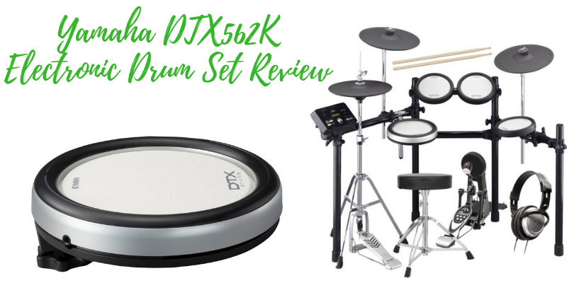 Yamaha DTX562K Electronic Drum Set Review - Why it's awesome?