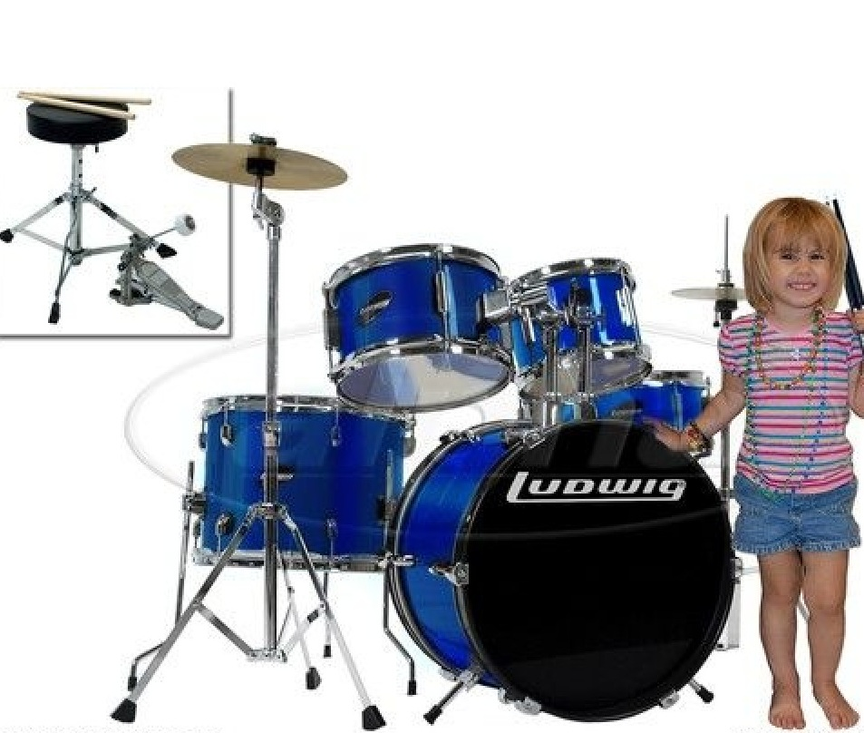best Ludwig Junior 5 Piece Drum Set