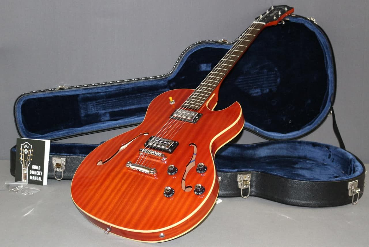 Semi Hollow and Hollow Body Guitars