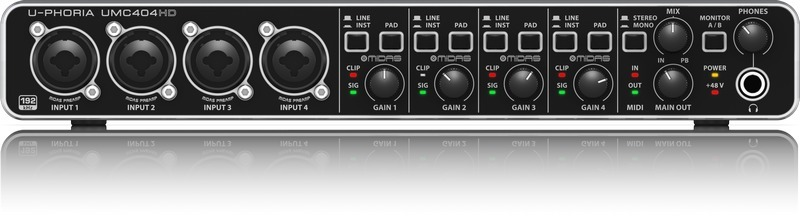 behringer audio interface