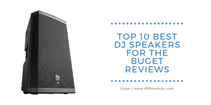 Best DJ Speakers Reviews