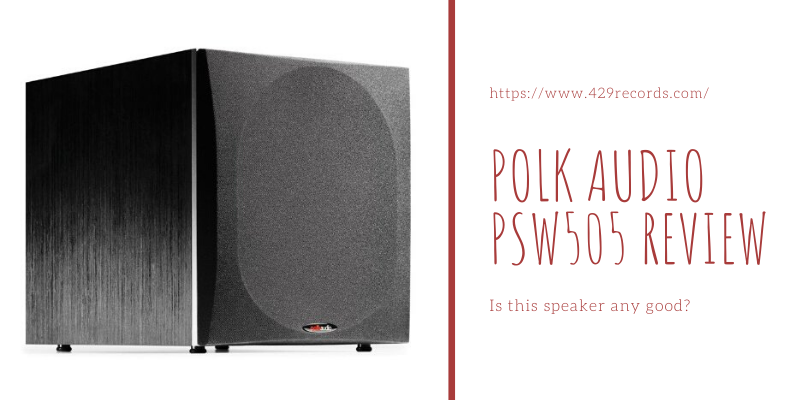 Polk Audio PSW505 Review