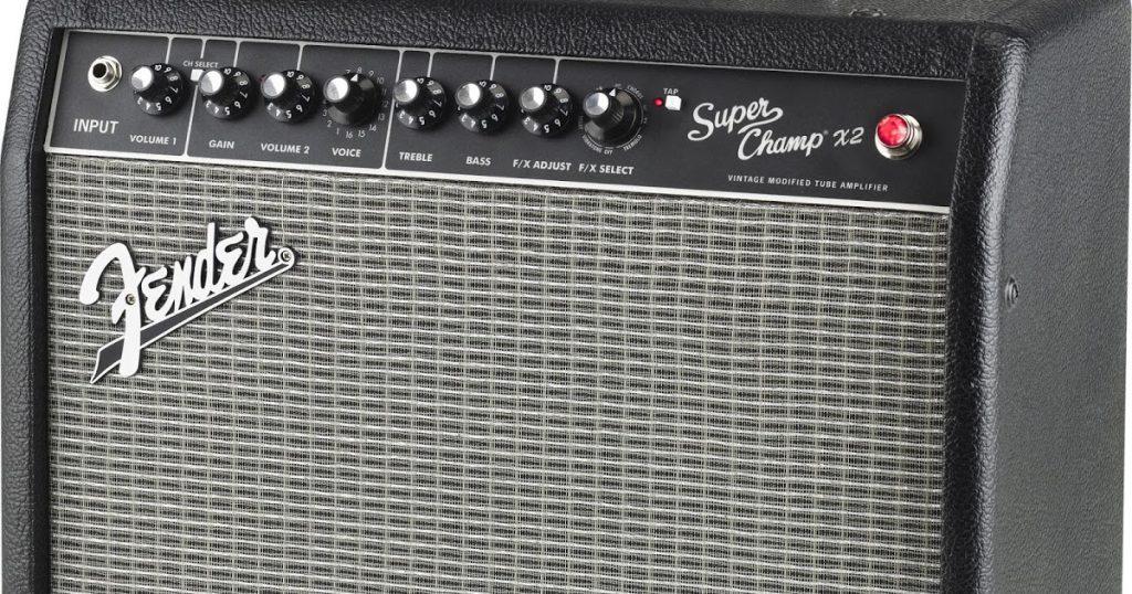 fender super champ x2 tube amp guide