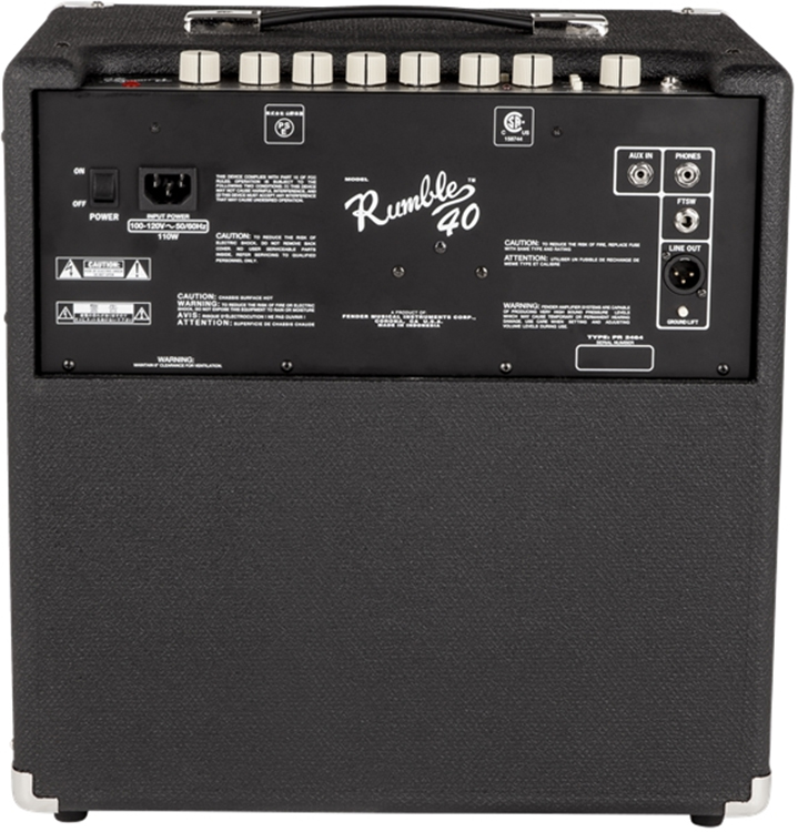 fender rumble 40 guide